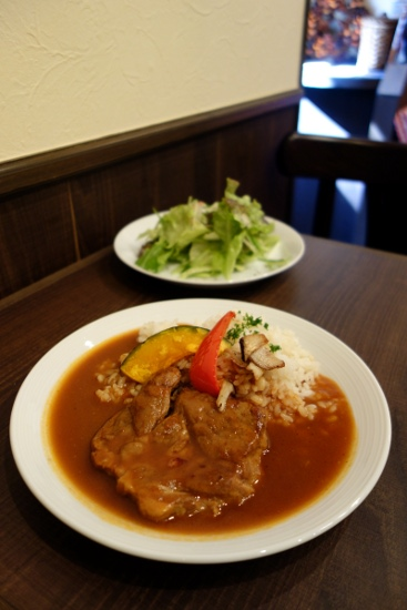 Pork stew prepared with dark beer at ムーサ (Muusa, Tokyo, Japan) on 11 March 2014.